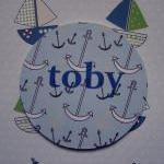 Wooden Nautical Personalize..