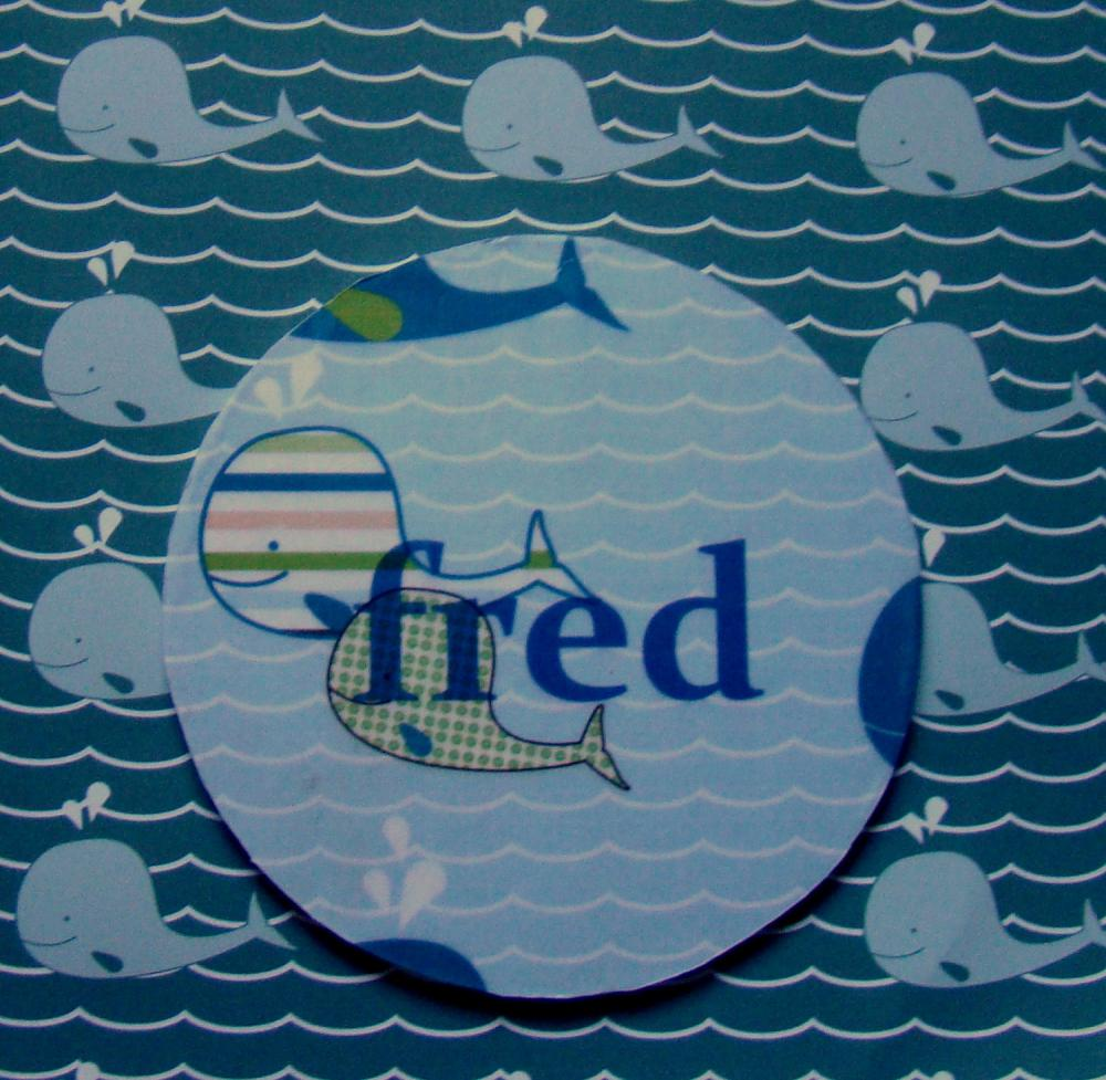 Wooden Nautical Personalized Room Sign