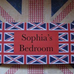 Personalized Children's London Room Sign